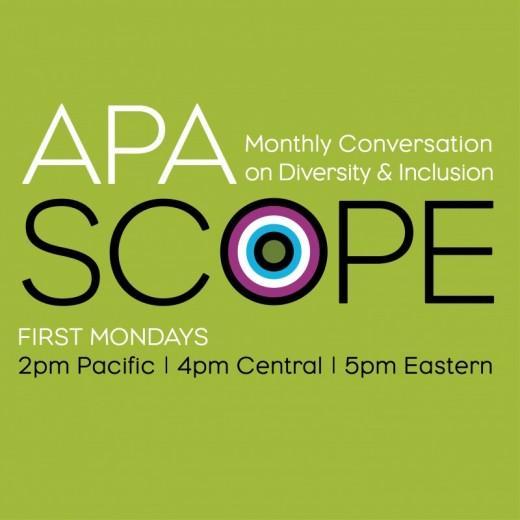 APA SCOPE Event logo